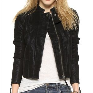 ⭐️ Free People - Moto Jacket In Faux Leather ⭐️